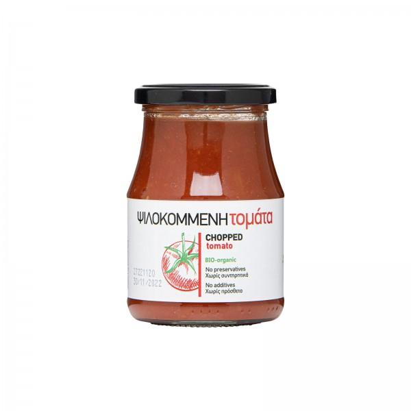 Bio-Tomaten, gehackt
