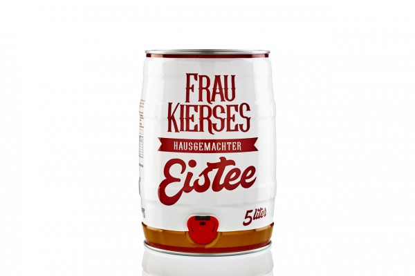 """Frau Kierses Eistee"" 5,0 Liter Fass"