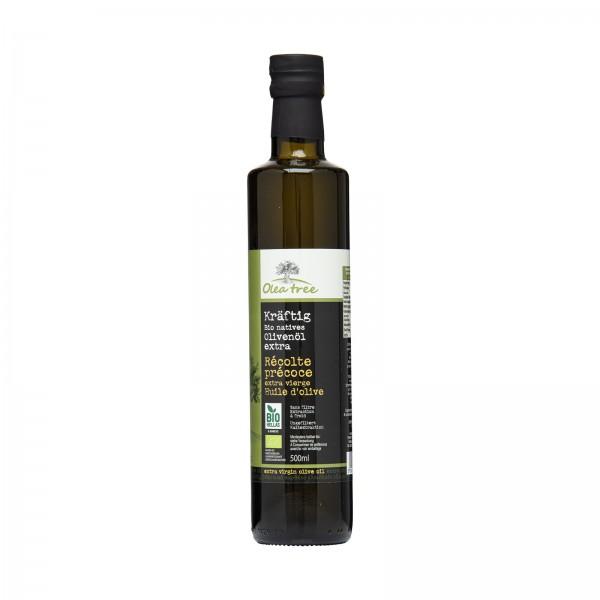 Bio-Olivenöl von Olea Tree, früh geerntet, extra nativ