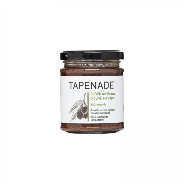 Bio-Olivenpaste aus Kalamon Oliven, mit/ohne Kapern - Tapenade