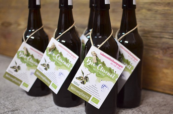 Olivenöl 'Olea Nea Koroneiki' - nativ extra, gefiltert