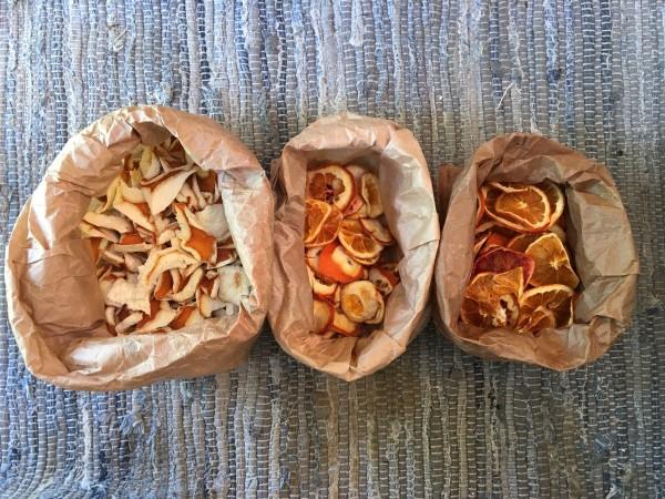 Orangen - Scheiben, getrocknet