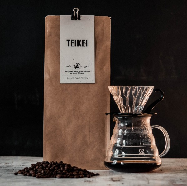 Sailed Coffee – Filterkaffee Bohne – 1000 g