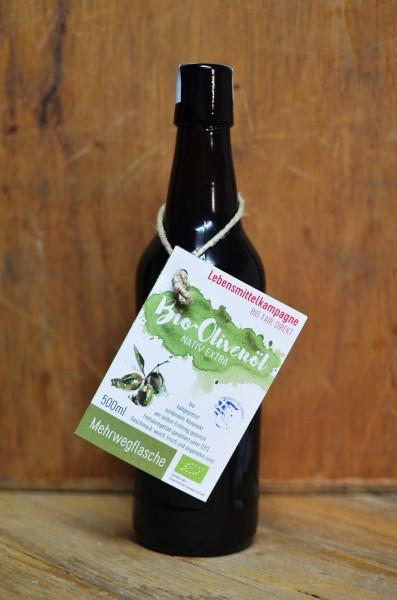 Olivenöl 'Koroneiki' - in Mehrwegflasche